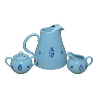 Cronin Blue Tulip Serving Set