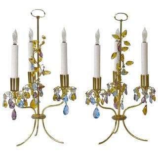 1930s Hollywood Regency Lobmeyr Haerdtl Table Lamps - a Pair For Sale