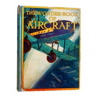"1929 Antique ""The Wonder-Book of Aircraft"" Book For Sale"