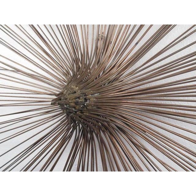 Curtis Jere Mid-Century C. Jere Style Sunburst Sculpture For Sale - Image 4 of 5
