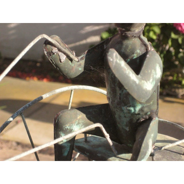 Vintage Horse and Buggy Coper Weathervane For Sale - Image 10 of 13