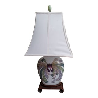 Smaller Palm Beach Regency Lamp For Sale