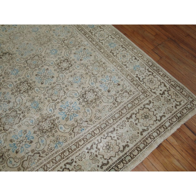 Vintage Shabby Chic Persian Malayer Rug, 8'1'' x 11'8'' - Image 9 of 9