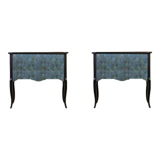 Classic Gustavian Louis XV Style Chests - Pair For Sale