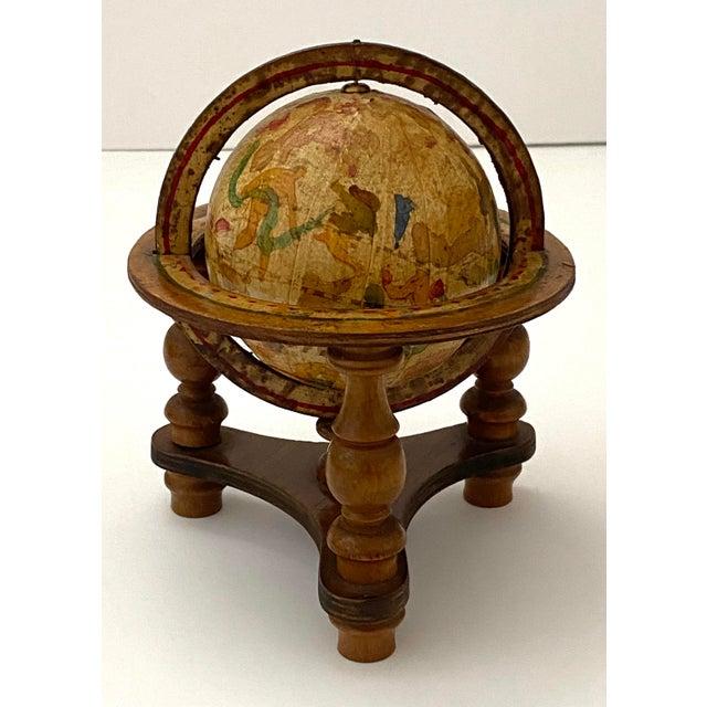 Vintage Artisan Fantasy Celestial Globe Antique Motif For Sale - Image 4 of 13