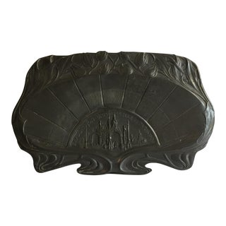 1900 Paris Exposition Art Nouveau Tray For Sale