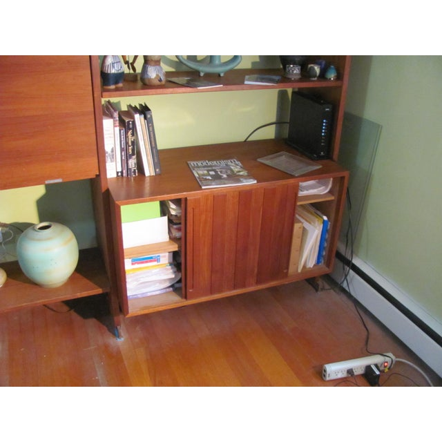 Hans Wegner Double Bay Teak Room Divider by Ry Mobler For Sale In Providence - Image 6 of 13