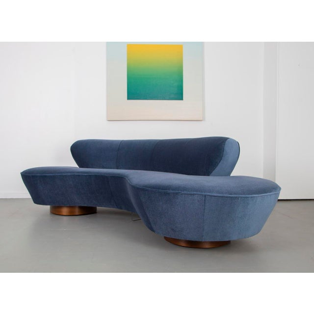 1970s Vladimir Kagan Cloud Sofa For Sale In Raleigh - Image 6 of 10