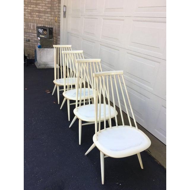 'Mademoiselle' Lounge Chair by Ilmari Tapiovaara for Edsby Verken - Set of 4 For Sale - Image 5 of 10