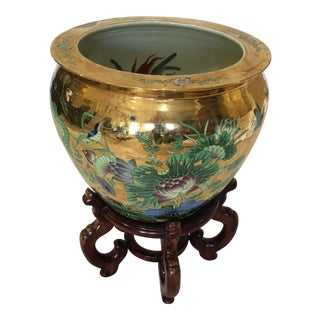 Decorative Porcelain Fish Bowl For Sale