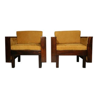 Mid-Century Modern Rosewood Chairs For Sale
