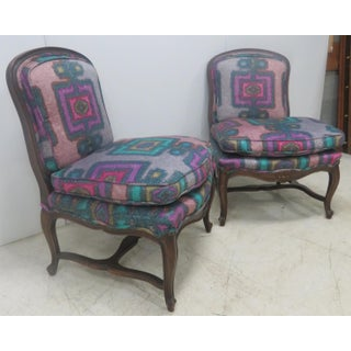Louis XV Carved Slipper Chairs - A Pair Preview