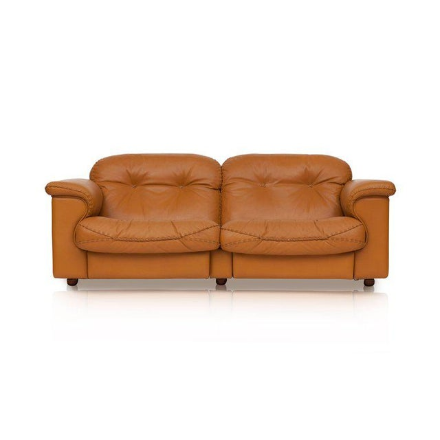 Brutalist Adjustable Ds 101 Sofa in Brown Leather by De Sede For Sale - Image 3 of 11
