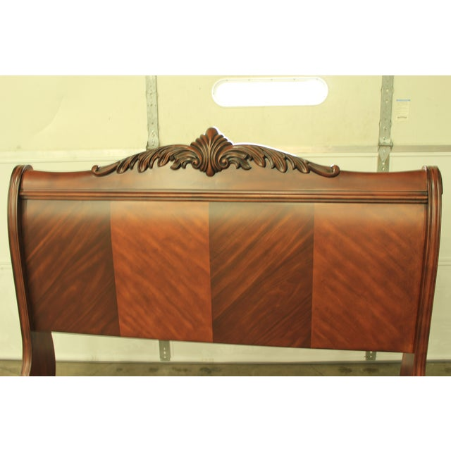 Tuscany Queen Sized Sleigh Bed Frame - Image 5 of 5