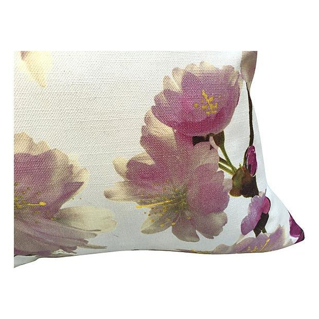 Cottage Floral Pillows - Pair For Sale - Image 3 of 5