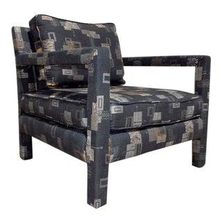 Milo Baughman Parsons Arm Club Chair