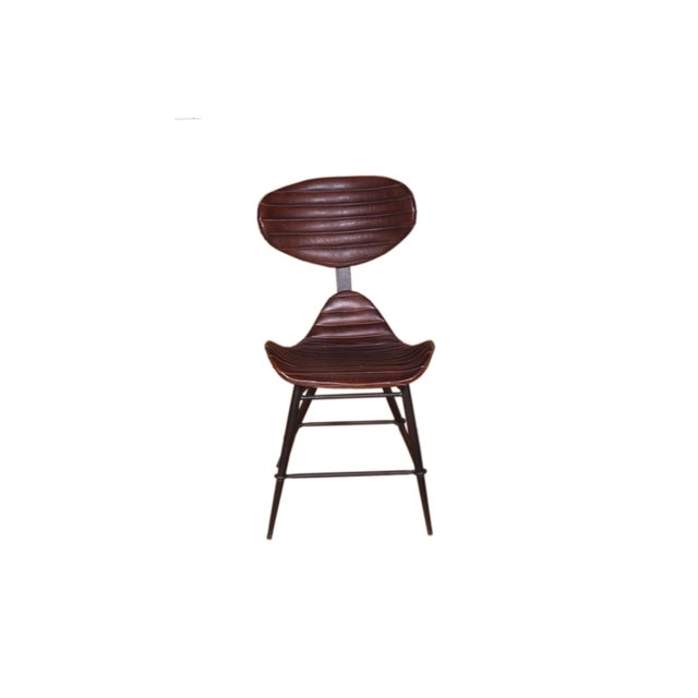Modern Modern Acel Leather Chair For Sale - Image 3 of 3