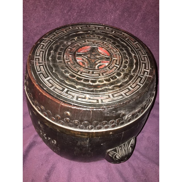 Antique Chinese Rice Barrel - Image 4 of 7