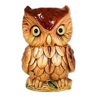 Owl Planter For Sale
