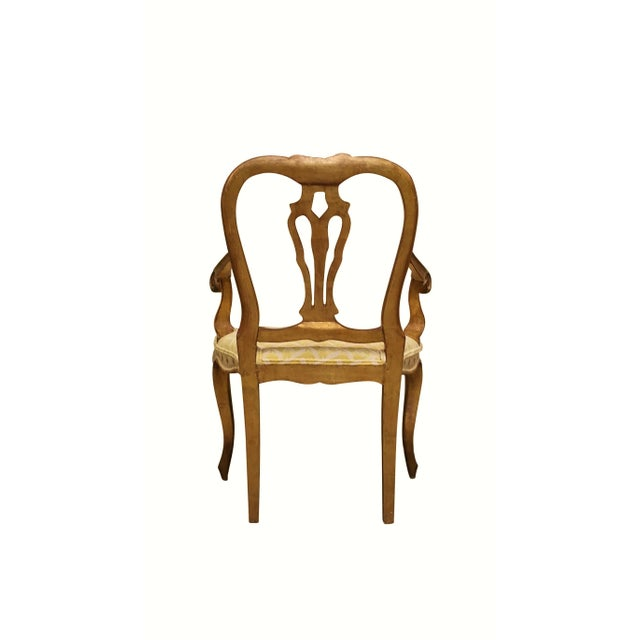 Queen Anne Style Accent Chair - Image 5 of 9