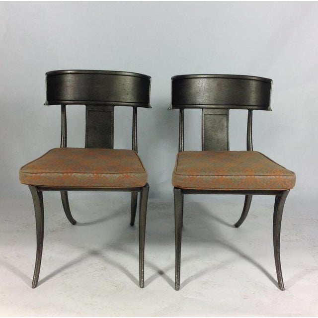 Late 20th Century Michael Taylor Outdoor Metal Chairs For Sale - Image 5 of 5