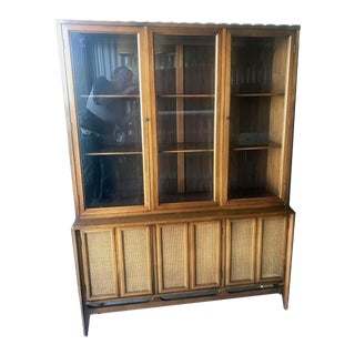 Mid Century Modern China Cabinet Hutch For Sale