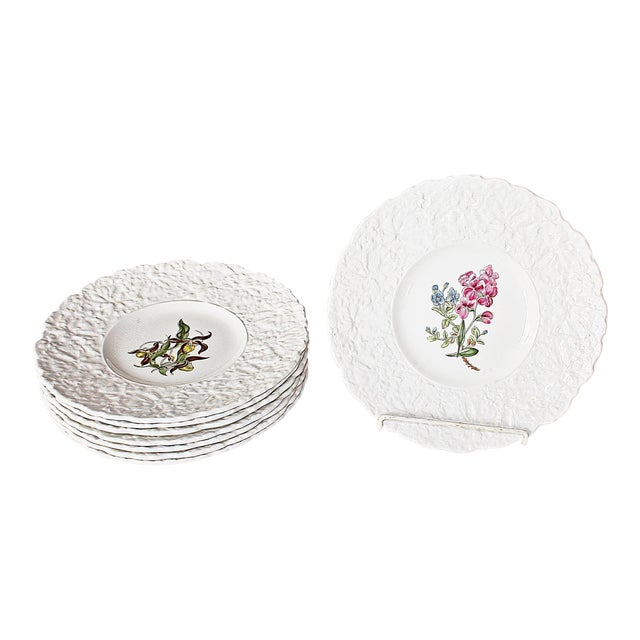 Royal Couldon Dessert Plates, Set of 8 For Sale