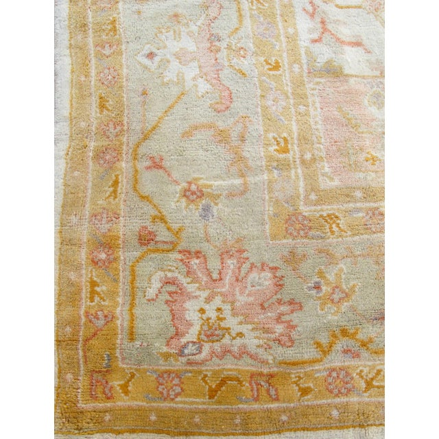 While oversized antique Oushak carpets are certainly known and desirable commodities in the current marketplace, few exude...