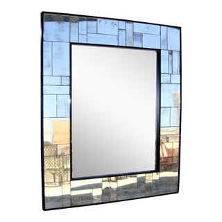 Uttermost Framed Wall Mirror For Sale