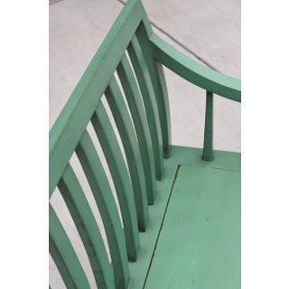 Green Asian Bench, Garden Settee Preview