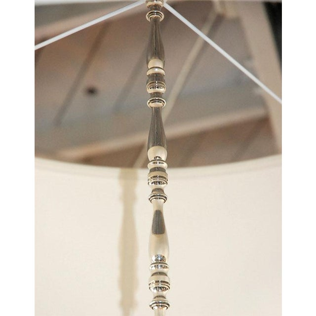 Paul Marra Design Five Arm Shaded Chandelier - Image 7 of 9