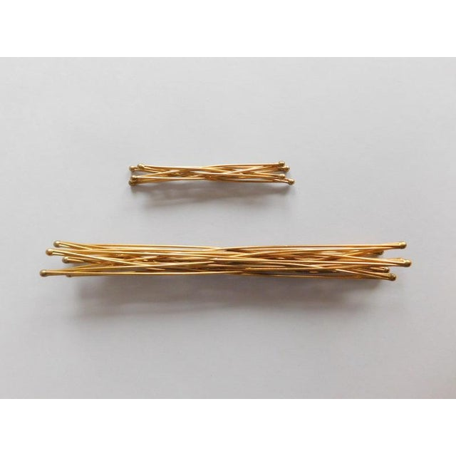 Vintage Wire Folding Kostick Stars - a Pair For Sale In New York - Image 6 of 6