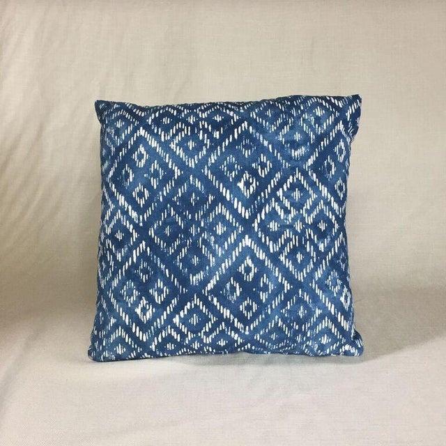 Kim Salmela Indigo Pillow - Image 2 of 3
