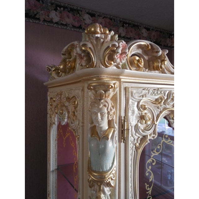 Italian Style Display Cabinet - Image 8 of 11