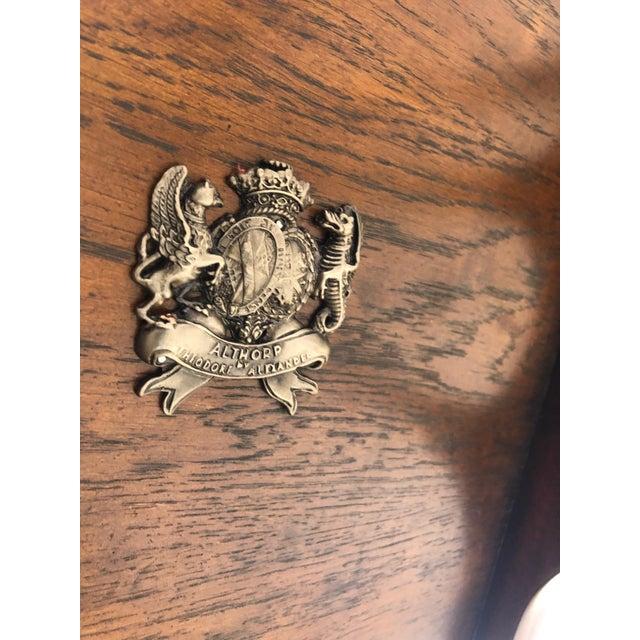 Regency Zebra Wood Nesting Tables - Set of 3 For Sale - Image 12 of 13