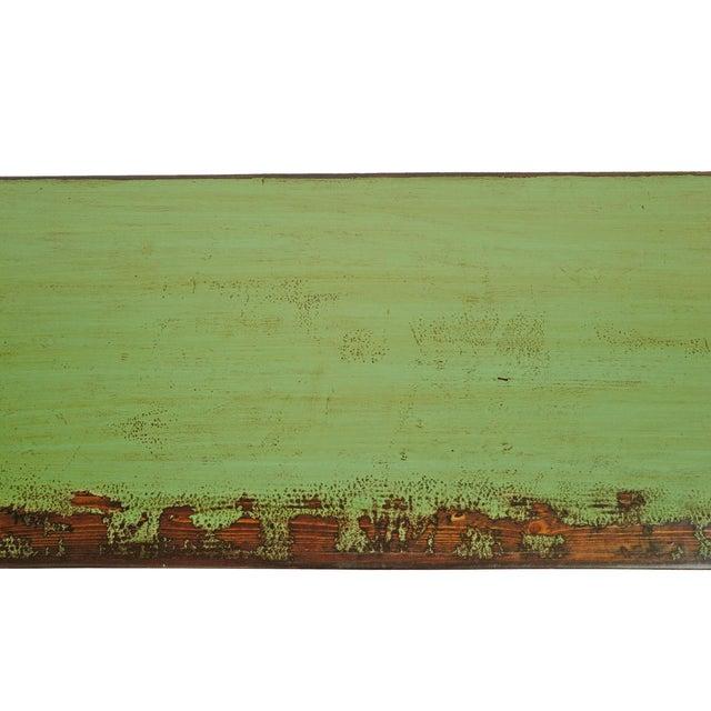 Metal Fern Green Sideboard For Sale - Image 7 of 8