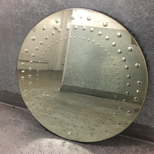 Restoration hardware 18th century venetian round mirror for Restoration hardware round mirror