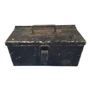 Black Metal Box For Sale