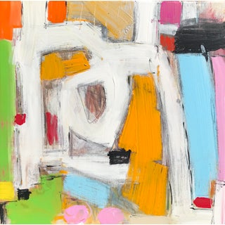 """Contemporary Abstract Sarah Trundle Painting, """"Remedy"""" For Sale"""