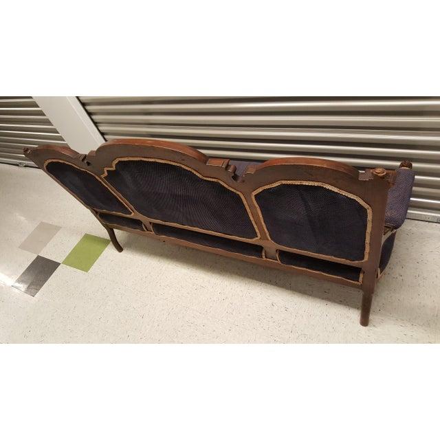 Antique Eastlake Design Settee - Image 6 of 8