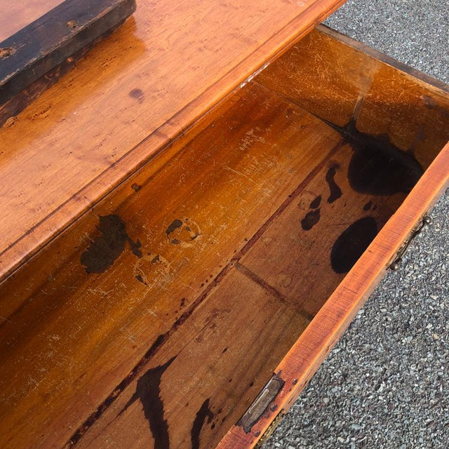 Country 19th Century Victorian Birds Eye Maple Mirrored Country Dresser For Sale - Image 3 of 10