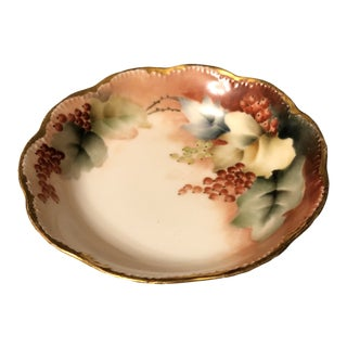 Limoges Small Scalloped Bowl For Sale