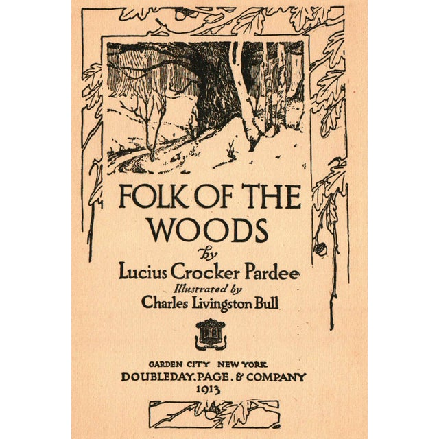 Folk of the Woods by Lucious Crocker Pardee - Image 2 of 4