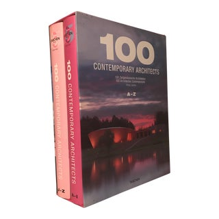 "2008 ""100 Contemporary Architects A-Z"" Taschen First Edition Bookset For Sale"
