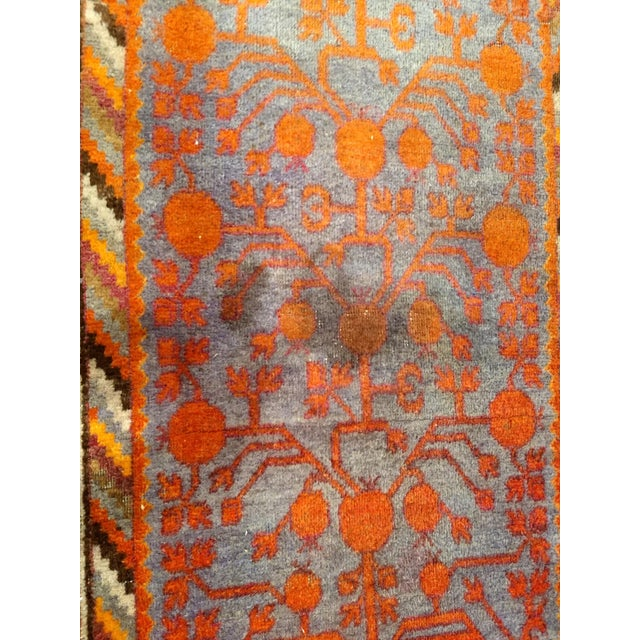 19th Century Art Nouveau Khotan Rug Runner - 2′2″ × 8′1″ For Sale - Image 9 of 12