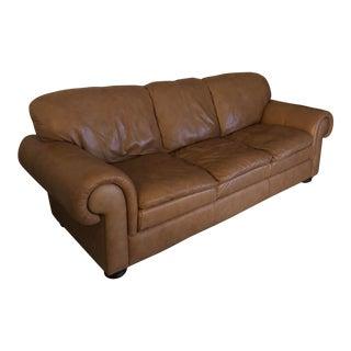 Bassett Leather Sofa For Sale
