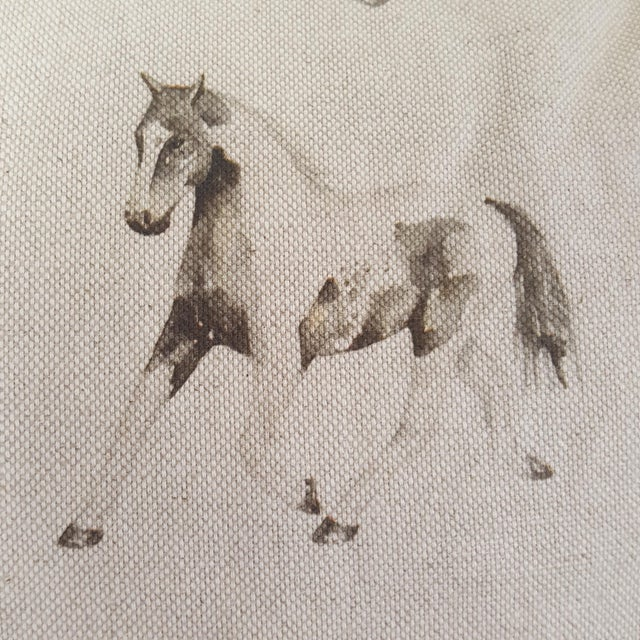Horses Accent Pillow For Sale - Image 9 of 13