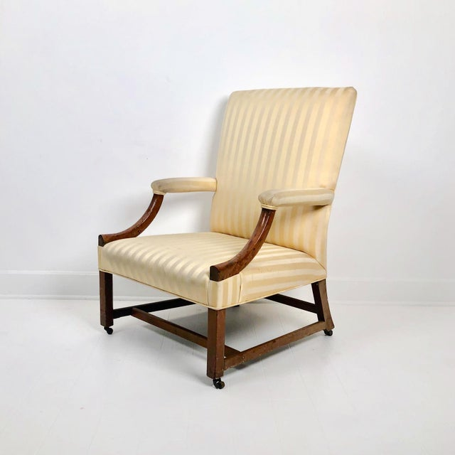 A late 18th Century English mahogany Chippendale mahogany armchair, circa 1770.