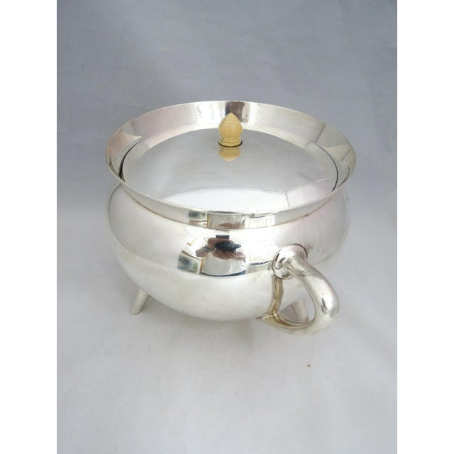 Mid Century Walker & Hall Silver Soup Tureen For Sale In Denver - Image 6 of 8