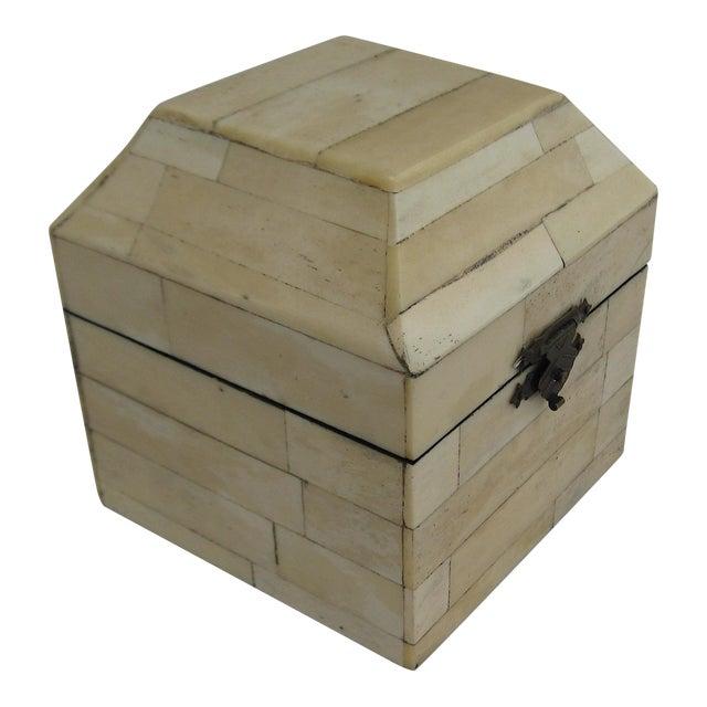 Chinese Bone Inlay Box - Image 1 of 9